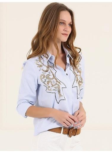 Desenli Uzun Kollu Gömlek-Faik Sönmez